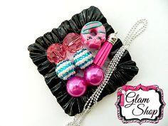 Shopkins Necklace Kit Dolly Donut Mystery Box by GlamShopBeads