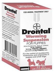 Hervey Bay Pet Stop - DRONTAL PUPPY 30ML SUSPENSION, $16.07 (http://hervey-bay-pet-stop.mybigcommerce.com/drontal-puppy-30ml-suspension/)
