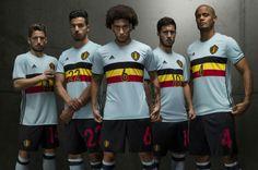 La nueva camiseta de la selección de fútbol de Bélgica, inspirada en el ciclismo