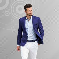 Discover men's blazers at Mens Suit Habit and add an element of style to your wardrobe. Shop online and jazz up that pair of jeans or trousers. Free shipping on order over $100! Use coupon code: MARCH15 to get an extra 15% off our already reduced prices! Order now:
