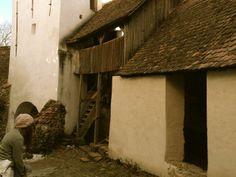 White Church. Saxon Village. Viscri, Romania