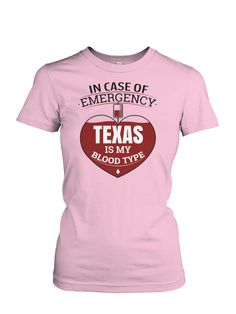 TEXAS Is My Blood Type!