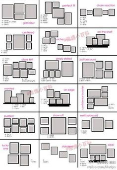 3 picture frame arrangement – Home Interior Design Ideas Picture Frame Layout, Picture Rail, Wall Frame Layout, Decorating With Picture Frames, Diy Picture Frames On The Wall, Wall Picture Design, Modern Picture Frames, Hanging Picture Frames, 3 Picture