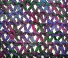 Condo Stitch Scarf Knitting Pattern