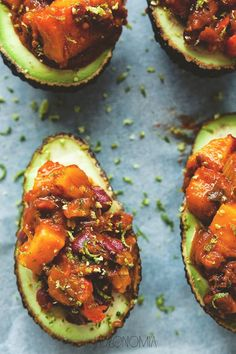 jadłonomia · Vegetable rules: Avocado stuffed with sweet potatoes Keto Recipes, Healthy Recipes, Morning Food, Love Food, Breakfast Recipes, Food Photography, Food Porn, Food And Drink, Healthy Eating