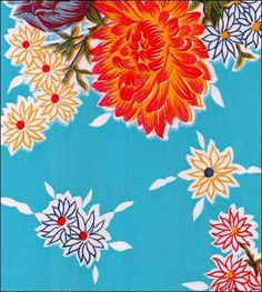 loving Mexican oilcloth patterns for the baby's room
