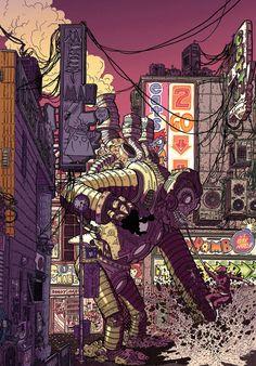 Marvel Zombies - Geof Darrow