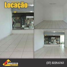 Bairro: Padre Libério Loja com piso em cerâmica, fachada em vidro temperado, 1º piso.  http://www.franciscoimoveis.com.br/index.php?pagina=locacao&imovel=2998