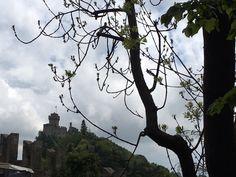 Vista de una a otra de las torres de Sanmarino