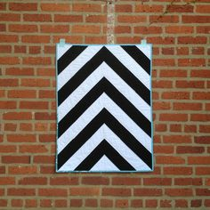 BlackandWhite+Chevron+Baby+Quilt+by+saltyoat+on+Etsy,+$95.00