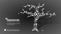 FREE Prezi Template - Icons tree