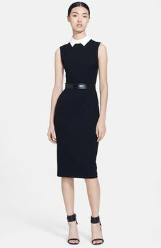 Jason Wu Belted Ponte Shirtdress available at #Nordstrom