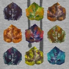 autumn leave nine - Frauen Premium Hoodie Leaves, Autumn, Hoodies, Shirts, Painting, Art, Sweatshirts, Fall, Painting Art