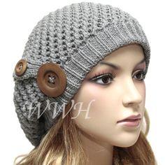 CUTE BERET BEANIE CAP HAT WINTER WOMENS be307g
