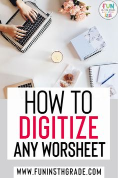 In the world of distance learning, virtual learning, hybrid learning model, having digital resources is so important! But it doesn't have to be hard!! Turning a worksheet or PDF into a digital… More
