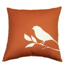 """Garden Treasures Lennington Rust 16""""x16"""" UV-Protected Outdoor Accent Pillow as shown on Canal Point Conversation Set.  $13.98 Shop Lowes.com"""