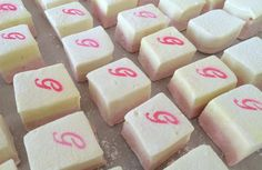 Custom Made Marshmallows for Wedding Dessert Bar