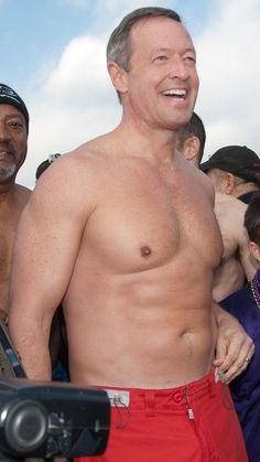 Martin O'Malley: former governor of Maryland; Shirtless Hunks, Older Couples, Love Dad, News Around The World, Red Swimsuit, Most Handsome Men, Married Men, Mature Men, Older Men