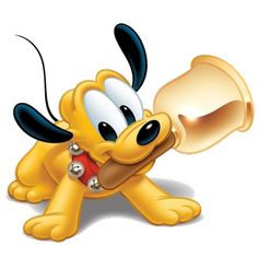 Pluto - Disney And Cartoon Baby Images                                                                                                                                                                                 Plus