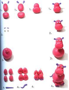 Поделки из пластилина по методу Рони Орена | БебиКлад