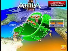 Previsioni Meteo:Lunedì 13 arriva ATTILA, sciabolata artica