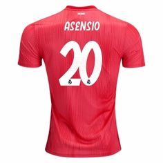 f26700ceb43 Real Madrid Third Men Soccer Jerse ASENSIO Item Specifics Brand  Adidas  Gender  Men s Adult Model Year  Material  Polyester Type of Brand Logo   Embroidered ...