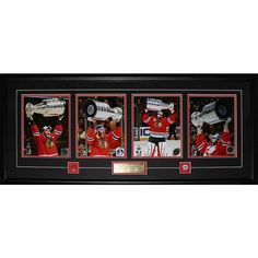 Midway 2015 Chicago Blackhawks Stanley Cup Champions 4 Photo Frame