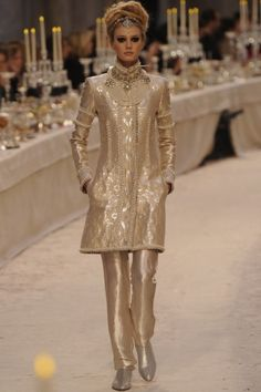 Chanel. This season, the Karl Lagerfeld- Pre-Fall 2012