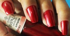 Amante by Impala - My nails @yinguinha