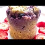 Berrylicious Minute Muffin in a Mug Recipe + some vids to catch up on!
