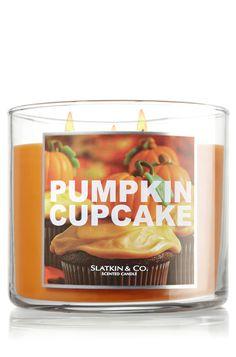 Pumpkin Cupcake 14.5 oz. 3-Wick Candle - Slatkin & Co. - Bath & Body Works