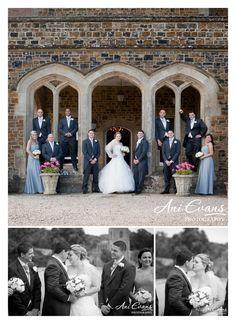 Fawsley Hall Wedding Bridal party