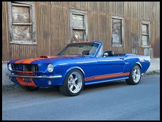 F91 1965 Shelby GT350CR  Convertible Retractable, MCA Grand National Photo 1