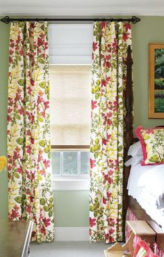 Love the fabric of these drapes.