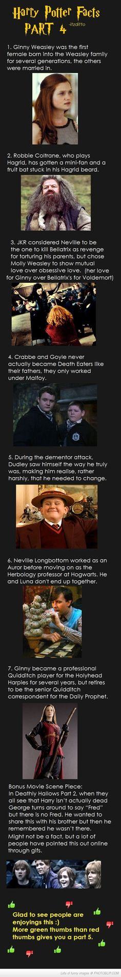 Harry Potter Facts Part