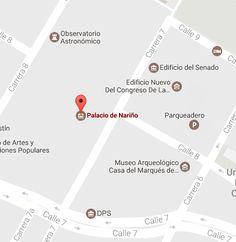Tomado de Google Maps Map, Google, Museums, Places, Location Map, Maps