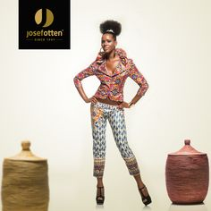 African Prints in Fashion: Josef Otten: Trendy Fabrics from Austria