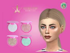Jeffree Star's Skin Frost Highlighting Powder for The Sims 4