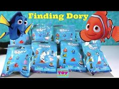 Finding Dory Nemo Disney Pixar Movie Blind Bag Toy Opening Review | PSToyReviews - YouTube