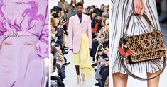 Spring/summer 2018 fashion trends range from the different ways to do the '80s to a yellow dress extravaganza. Check out the key looks in our edit here.