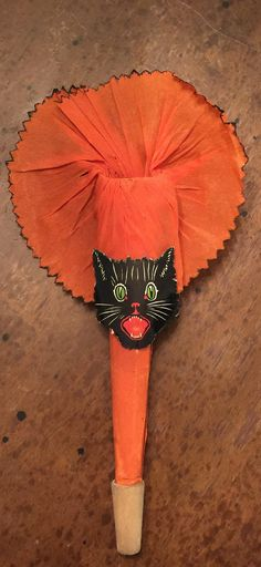 Hey, I found this really awesome Etsy listing at https://www.etsy.com/ca/listing/256467441/antique-halloween-crepe-paper-horn