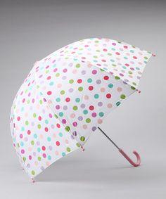 Polka Dot Umbrella by Pluie Pluie