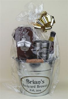 This NEW gift basket is guaranteed to make your guy (or gal!) feel appreciated. It has everything a beer lover needs to enjoy beer outdoors, plus room for you to add a few bottles of their favorite brew.