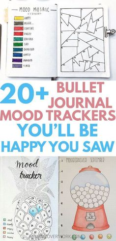 ADORABLE Bullet Journal Mood Trackers Bujo inspiration to track your emotions daily. DIY these year and monthly BULLET JOURNAL MOOD TRACKER examples. Catch patterns of depression or keep the running steak of happy. Bullet Journal Tracker, Bullet Journal Printables, Bullet Journal 2019, Bullet Journal Spread, Bullet Journal Inspo, Bullet Journal Layout Templates, Bullet Journal Year In Pixels, Bullet Journal Examples, Bullet Journal Ideas For Students