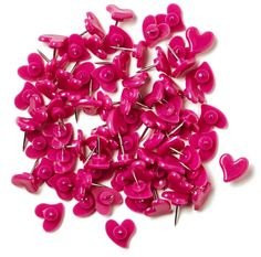 Hello, world's cutest heart pushpins. Plus, a purchase helps classrooms in need.