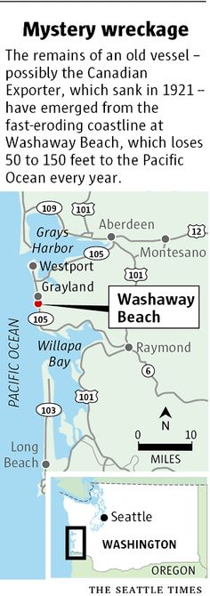 washaway beach tokeland wa | ... Washaway Beach on the Washington coast. Until the past year, the