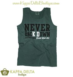 KD Boutique Custom! Kappa Delta Greek Week Tanks
