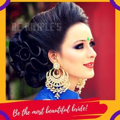 Our wide range of #bridalservices will be delivered by our #bridal #makeover experts at the best salon De Rimple Beauty Lounge & Spa. Our  #bridalpackages are specifically designed to de-stress you during the busy days of your wedding. For consultation, call 9773729999 / 022 28070888 — with Hemal Kothari and Rimple Kothari at De Rimple Beauty Lounge & Spa.