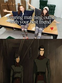 HA!(hehe!!!we should get matching outfits just for fun! We don't have to wear them in public we just have to have them!)