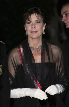 Princess Caroline Photos Photos - Princess Caroline of Hanover arrives to attend a Gala Evening at the Salle Garnier as part of Monaco's National Day celebrations  on November 19, 2006, in Monte Carlo, Monaco. - Monaco National Day Celebrations- Day 3